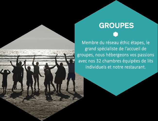 Membre du réseau éthic étapes, le grand spécialiste de l'accueil de groupes, nous hébergeons vos passions avec nos 32 chambres équipées de lits individuels et notre restaurant