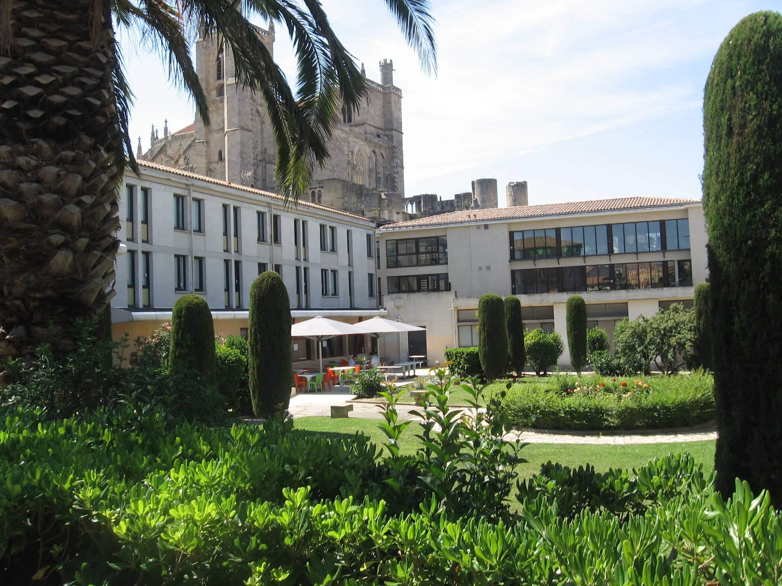 CIS de Narbonne, vue sur le jardin