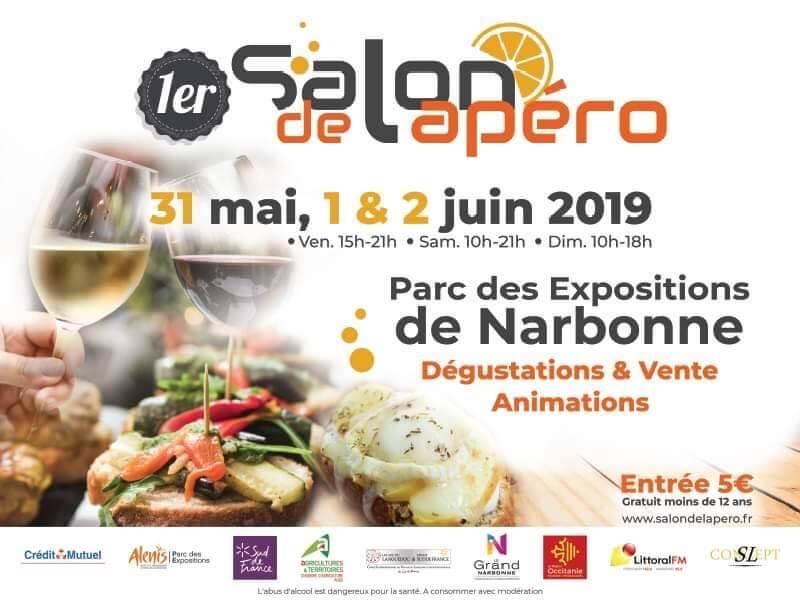 1er Salon de l'Apéro à Narbonne